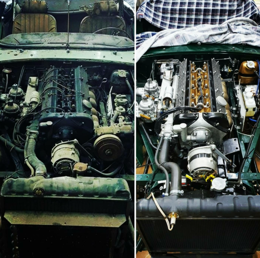 classic car engine restoration